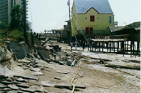 Hurricane opal damage pictures